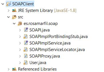 Crear API SOAP JAVA